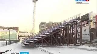 На томском стадионе