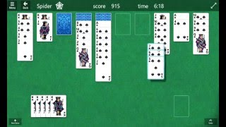 Microsoft Solitaire Collection: Spider Master!