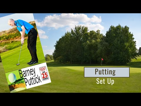 Putting Setup for Your Golf Game