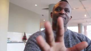 'BULLY!' - DILLIAN WHYTE REACTS TO EXPLOSIVE PRESS CONFERENCE & DERECK CHISORA THROWING TABLE AT HIM