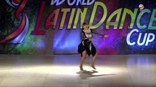Gabriela Barrionuevo, Mexico, Salsa Soloist Amateur Lady Over 50, Final 3rd Place, WLDC2016