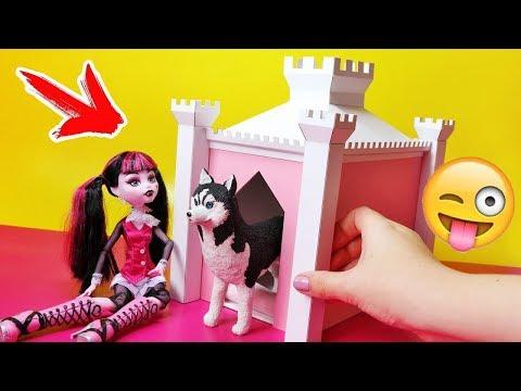 ДОМИК ДЛЯ СОБАКИ 😍 КТО СЪЕЛ ВСЕ ЧИПСЫ ??? 🌟Питомцы для кукол! Игрушки для детей Анна Оськина