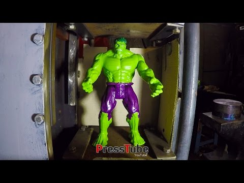 Hydraulic Press | Hulk Stopping Press !!!