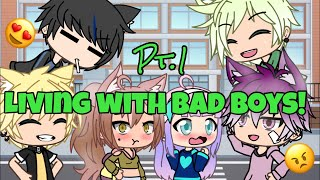 Living with Bad Boys| S1 Ep1 (Gacha Life)