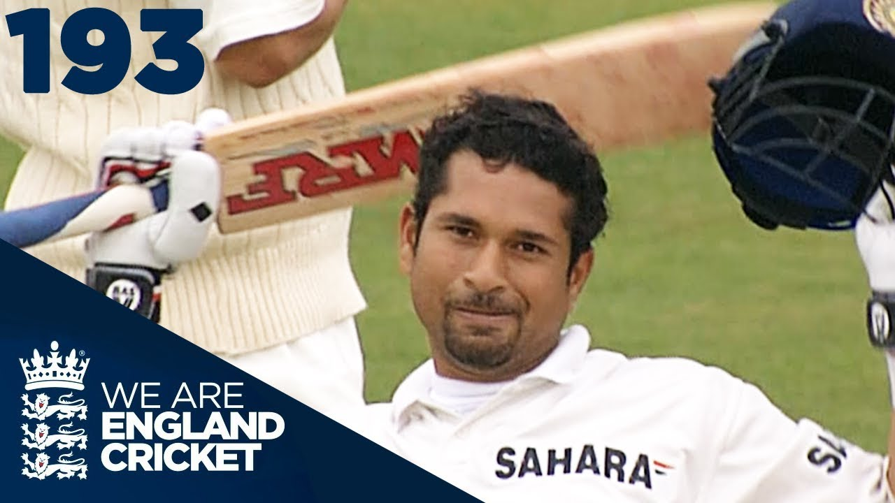 The Little Master At His Best: Tendulkar Hits His 30th Hundred   England v India 2002 - Highlights