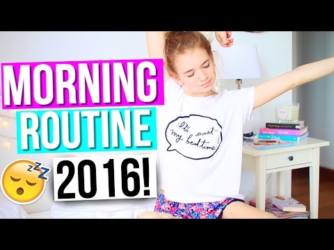Morning Routine for School 2016!