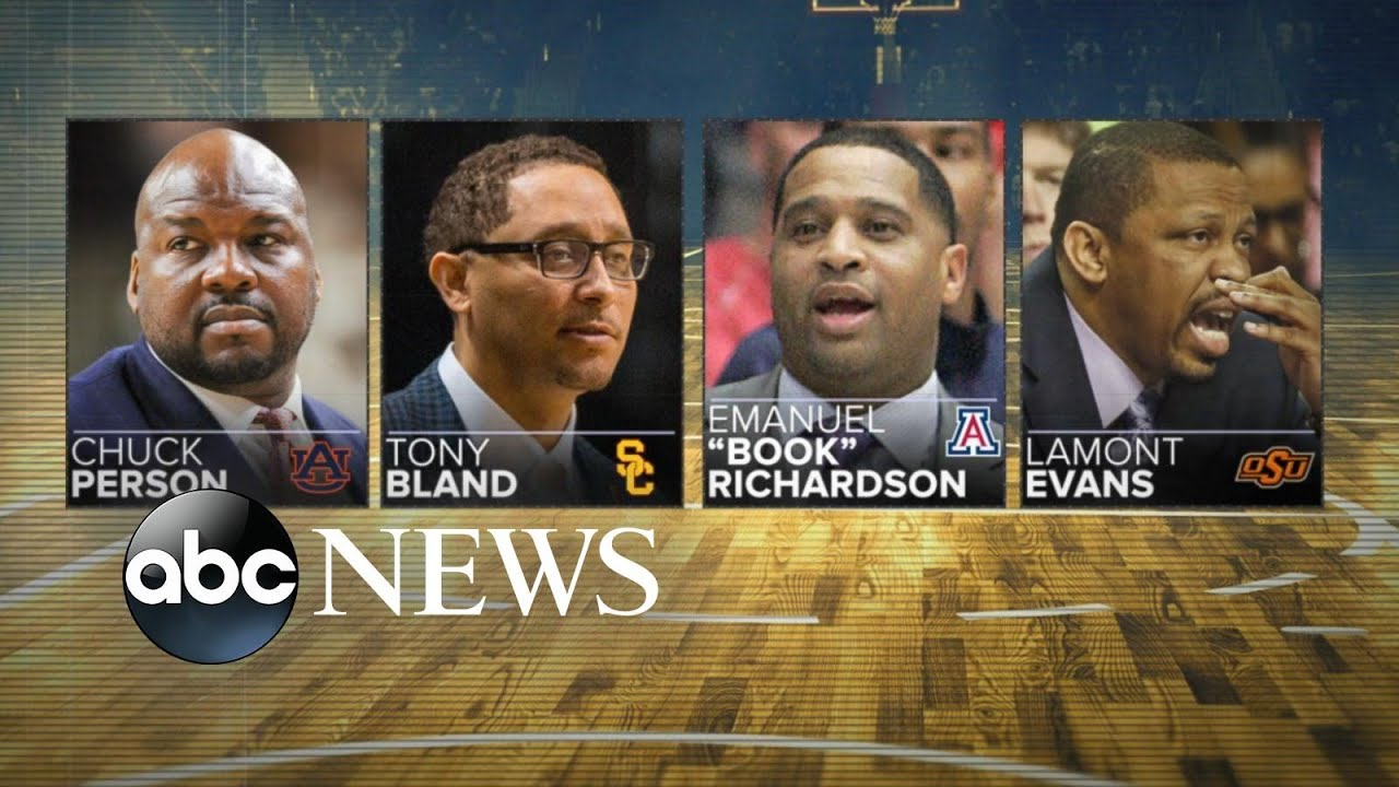 bbd60ee34cc 10 arrested in college basketball corruption scandal - YouTube