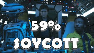 MILLENNIAL FALCON CRASHES 66% ROTTEN TOMATOES SCORE! This is what it sounds like when shills cry.