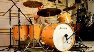 Led Zeppelin - We're Gonna Groove (Royal Albert Hall) - Drum Cover - Ludwig Maple Thermogloss