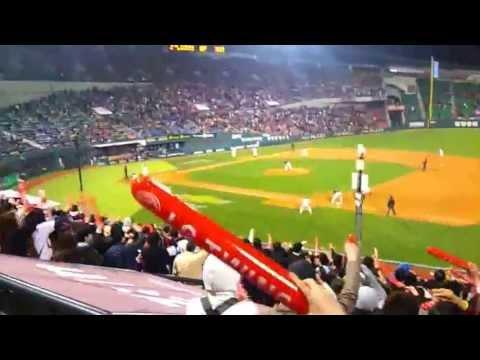 20130426 LG Twins(엘지 트윈스) vs Lotte Giants(롯데 자이언츠) 9회 2사 이진영 끝내기 승리. 민족의 아리아+승리의 노래