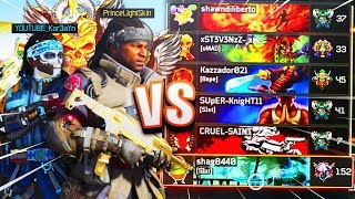SWAGG TheKoreanSavage Vs FULL 6 MAN PARTY I GOT A NUKE