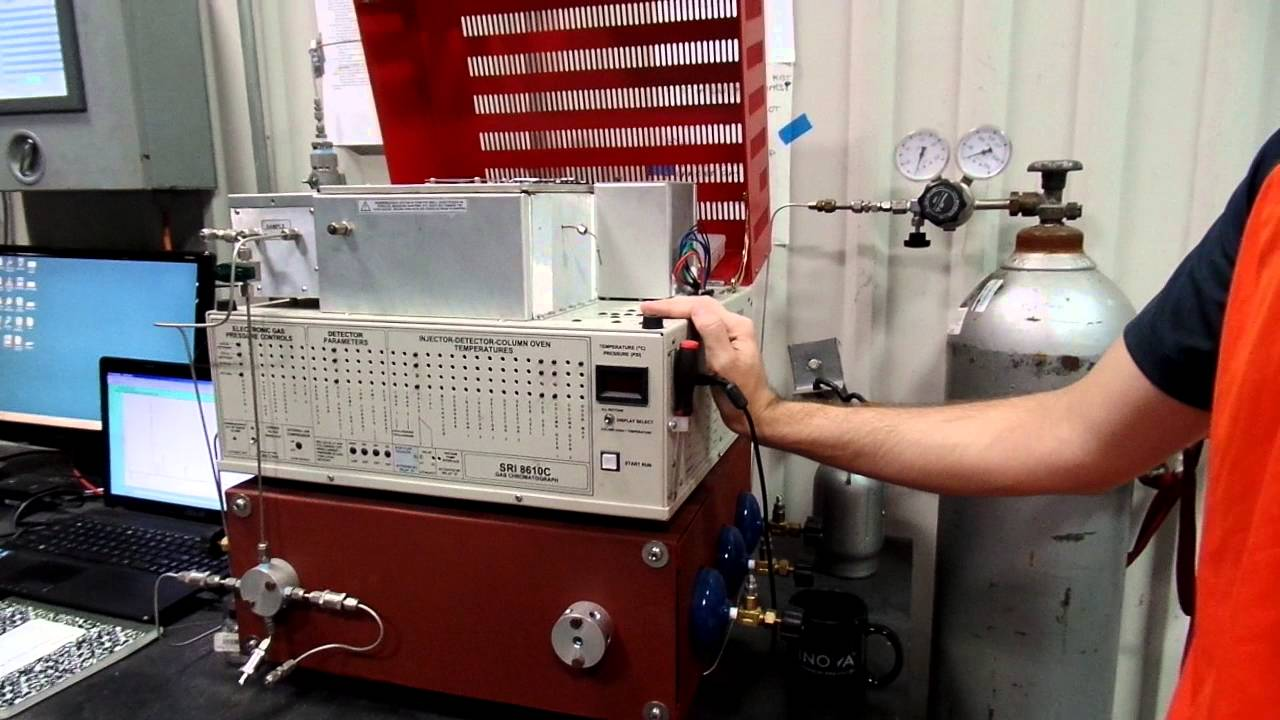 Sri 8610c gc gas chromatograph fid / tcd detectors +manuals +.