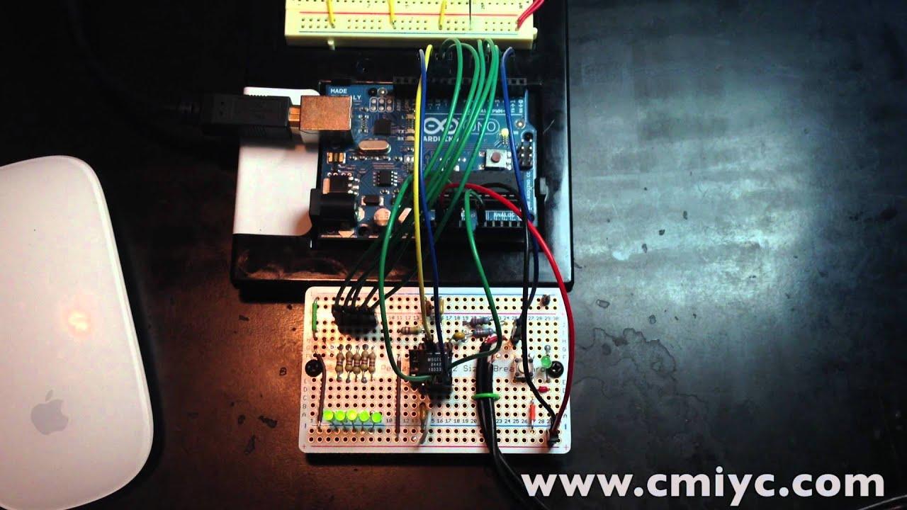 MSGEQ7 Simple Spectrum Analyzer - Bald Engineer