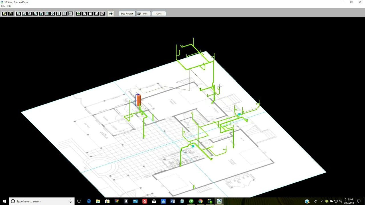 3d piping diagram wiring diagram centrequickplumb 3d plumbing design software youtubequickplumb 3d plumbing design software [ 1280 x 720 Pixel ]