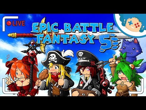 Epic Battle Fantasy 5 PL - Potyczka Z Lancem!   Zapis LIVE