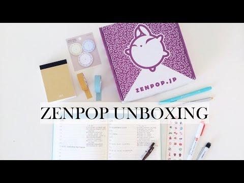 ZenPop unboxing video