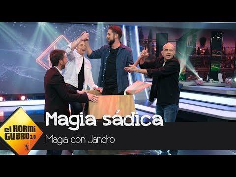 Broncano se convierte en el protagonista de la sádica magia de Yunke y Jandro - El Hormiguero 3.0