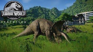 Jurassic World Evolution Game #2: Công viên khủng long mới ấp thêm nhiều loài mới