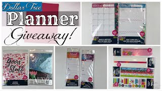 Dollar Tree | Planner GIVEAWAY CLOSED! 🤗 June 29, 2019