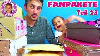 MEGA GESCHENKE von unseren FANS   Fanpakete #23 auspacken   CuteBabyMiley