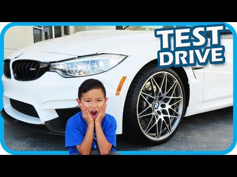 Thumbnail: KIDS Test Driving BMW CARS with DAD, Fidget Spinner Fun - TigerBox HD