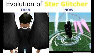 Evolution of Star Glitcher in Script Showcases | Star Glitcher Evolution | ROBLOX
