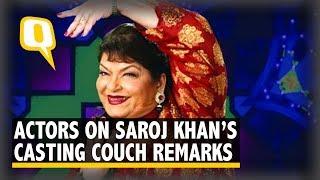 Sri Reddy, Richa Chadha React to Saroj Khan's Casting Couch Remark