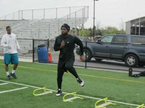 Marvin Mitchell & Terrell Whitehead training at Dre
