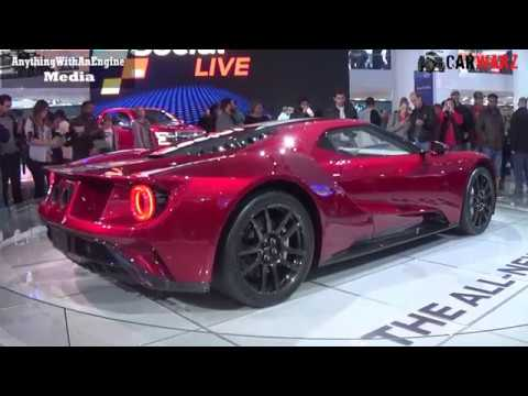 Ford Gt At The  Naias Detroit Auto Show