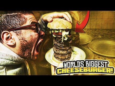 WORLD'S BIGGEST CHEESEBURGER!! (WORLD RECORD!) COOKING WITH MAMA REZ 😱 - MINDOFREZ FAMILY VLOG!