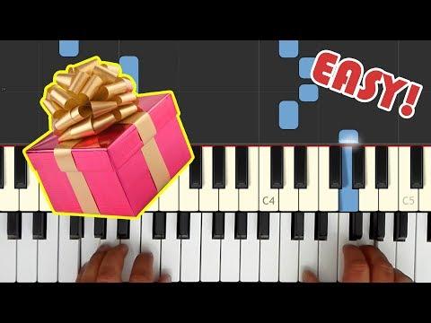 Happy Birthday song PIANO TUTORIAL - Easy!