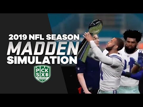 COWBOYS WIN THE (Madden) SUPER BOWL!   Madden 20 Simulation   Pick Six Podcast