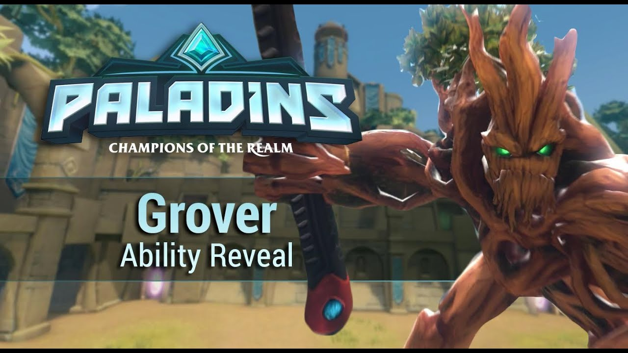 Paladins - Grover - Ability Reveal - YouTube