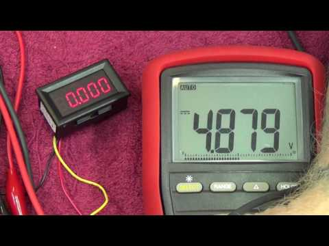 Episode 84   Chinese USB Voltmeter and lead in to Red PSU project
