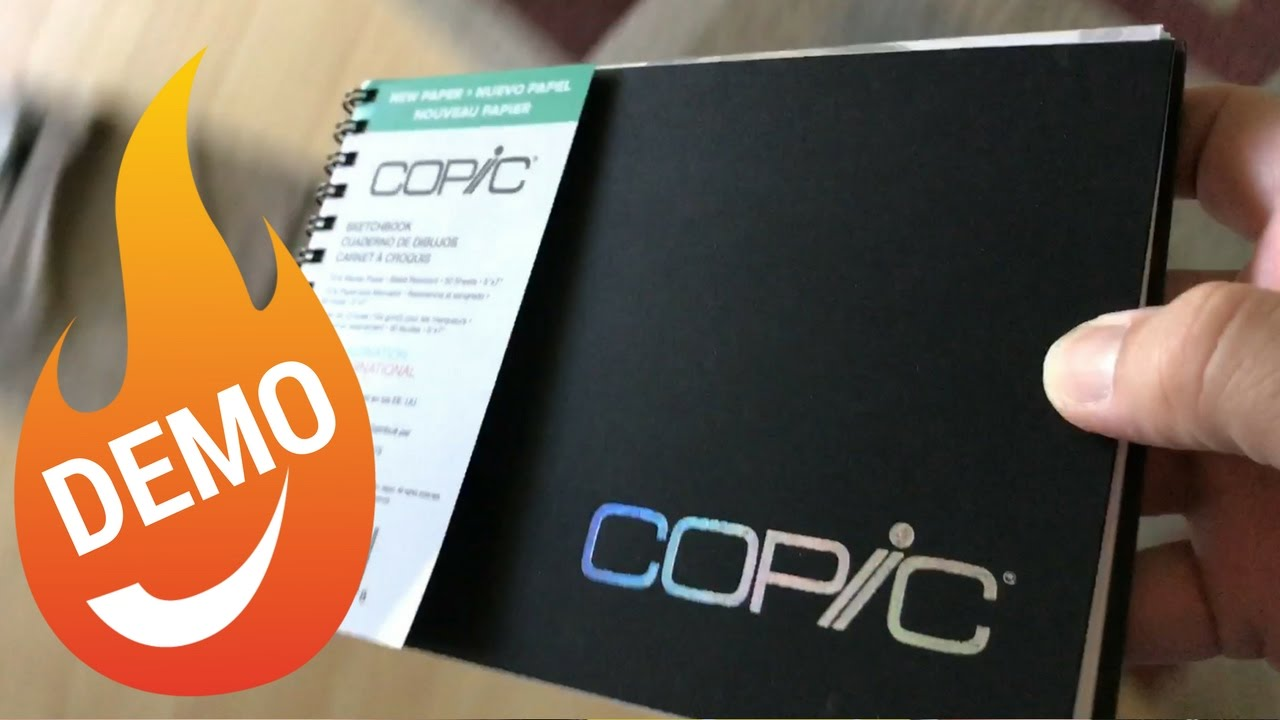 "Copic Markers SKBK9X12 Sketch Book 9/"" X 12/"" 50 Sheets Wire Bound 9/""X12/"""