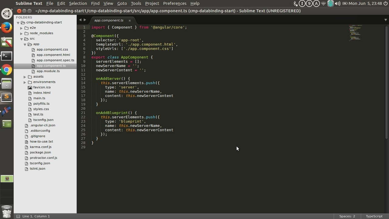 Install Typescript Syntax Highlighting in Sublime text