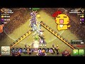 NEW STYLE 19 Witch destroy Ring base th11 max, CoC 3 star th11 war warriors