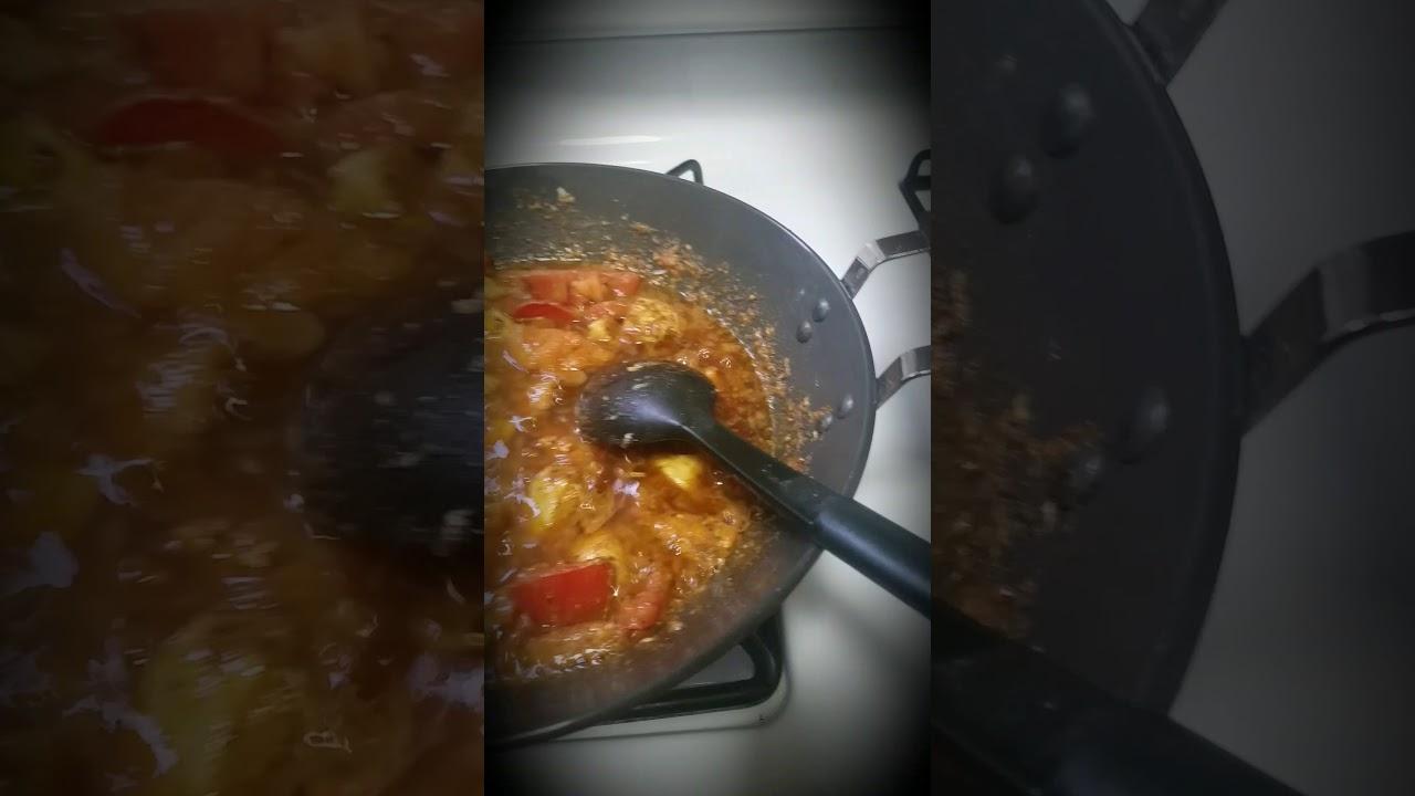 Pakistani chicken karahi 😍😋