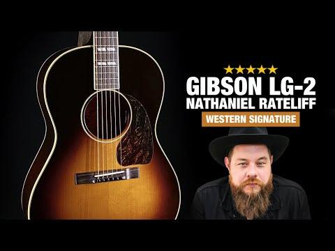Gibson LG2 Nathaniel Rateliff Western Guitar