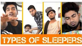 Types of sleepers || Funny video || Nizambad diaries ||