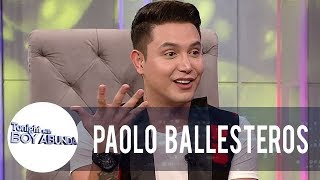 Paolo shares how he started his makeup transformations | TWBA