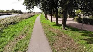 active track by DJI Mavic Air @Markkanaal, Terheijden PART 2; RTH