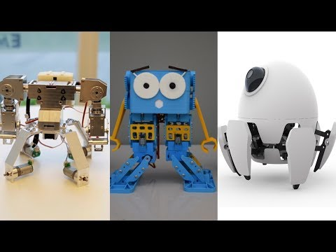 Best 5 Mini Robots For Kids / Robot Toys 2017 – Fighting Robots, Humanoid Robot, Xpider, Marty,