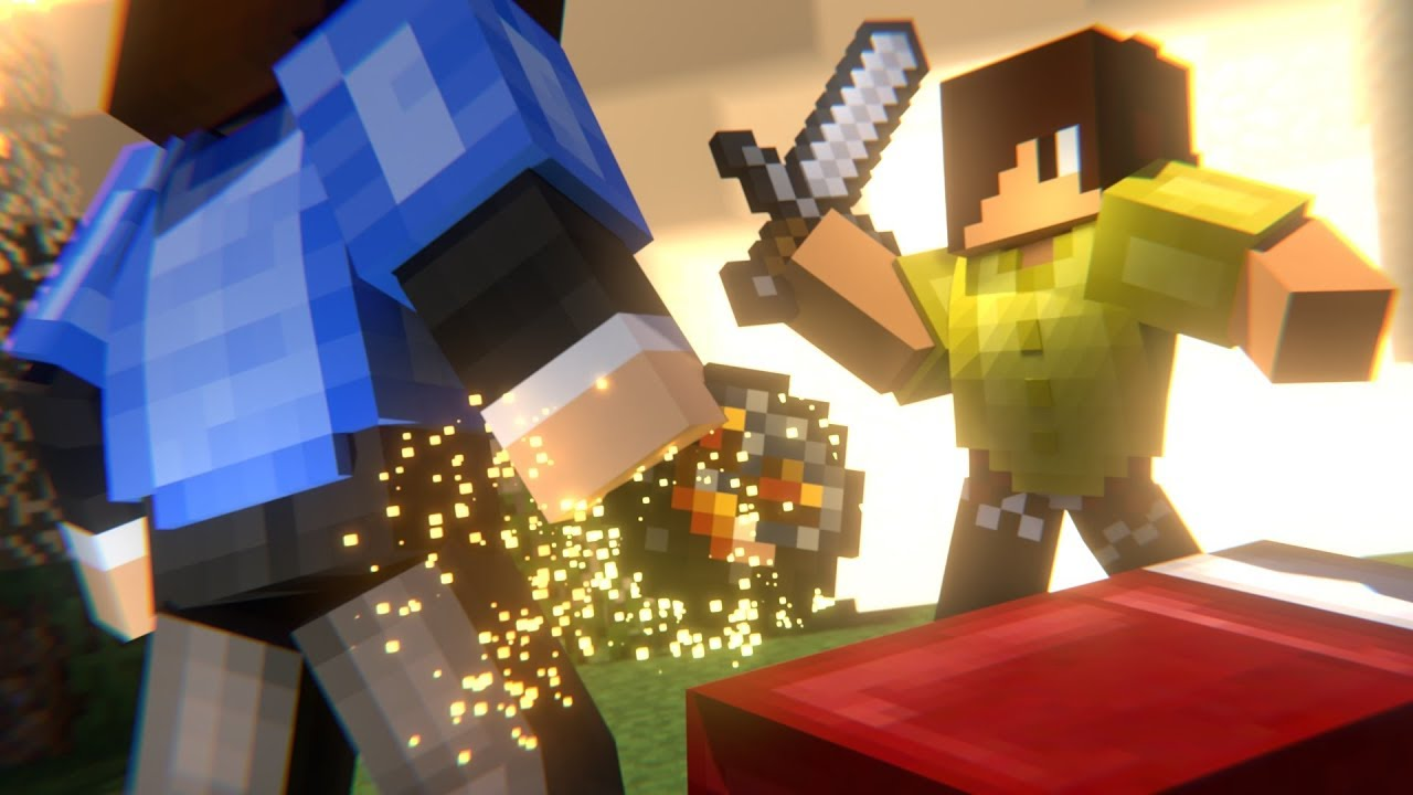 Bed Wars Part 2 Minecraft Animation Hypixel YouTube