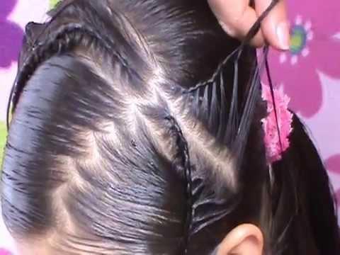 Corona de angel peinados para ni as paso a paso youtube - Peinados bonitos para ninas ...