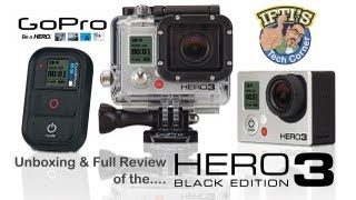 GoPro Hero 3 Black Edition - Unbox & Full Review