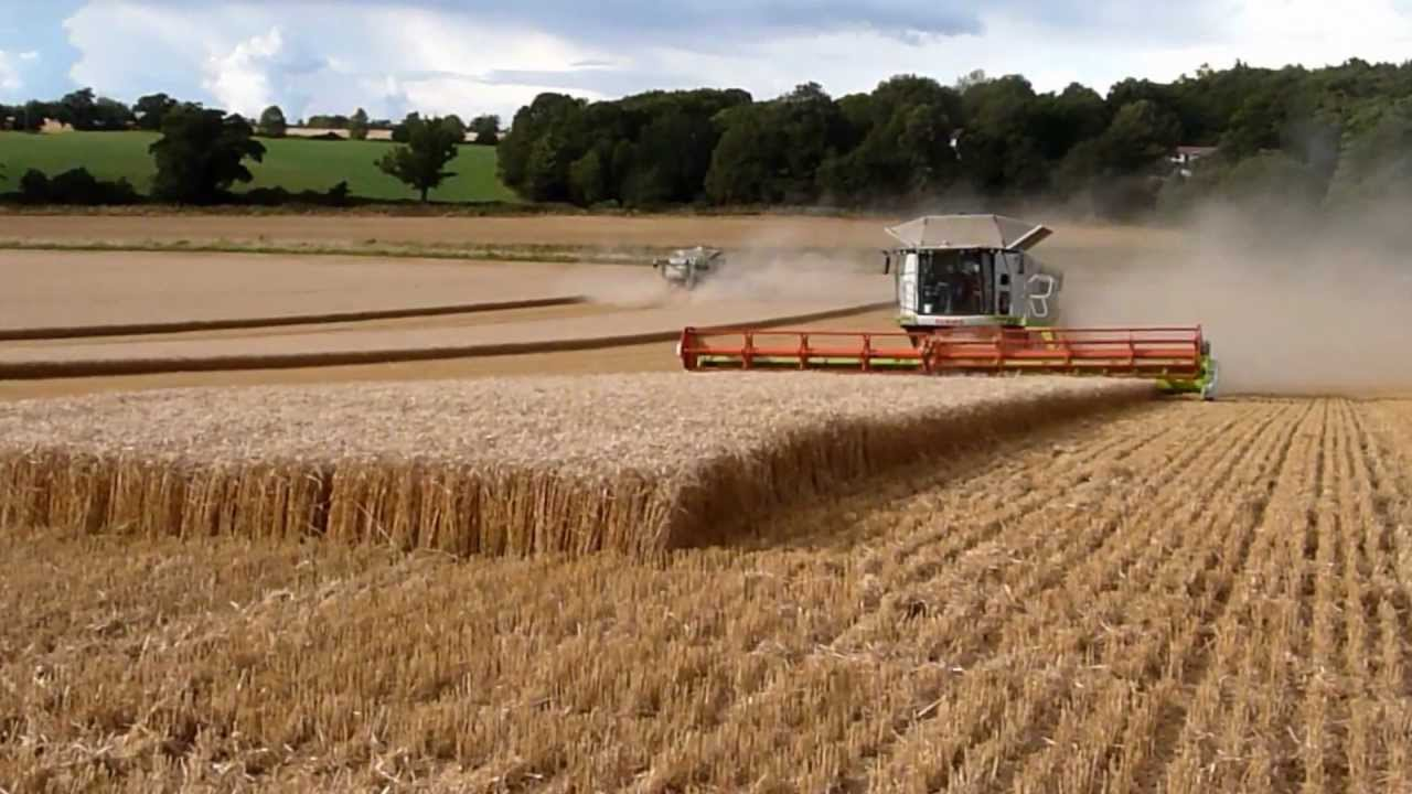 Biggest Combine Harvesters In The World Youtube