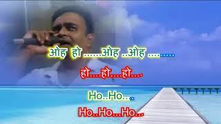 Kaun disha main leke by Rajesh Gupta with daul language lyrics & daul colours