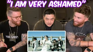 "Identical Twins Show Korean American Friend BTS For THE FIRST TIME EVER!! ""I am very ashamed"""