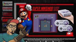 RETROPIE THEME REVISIT - SNES AND NES CLASSIC MINI EDITION COLLECTIONS! SUPERDISPLAY